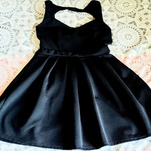 Poof Couture little Black dress. Isn't she pretty?